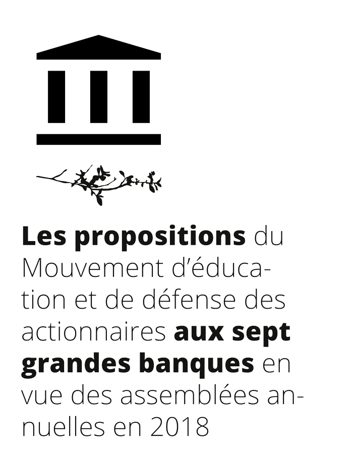 propositions 2018 banques