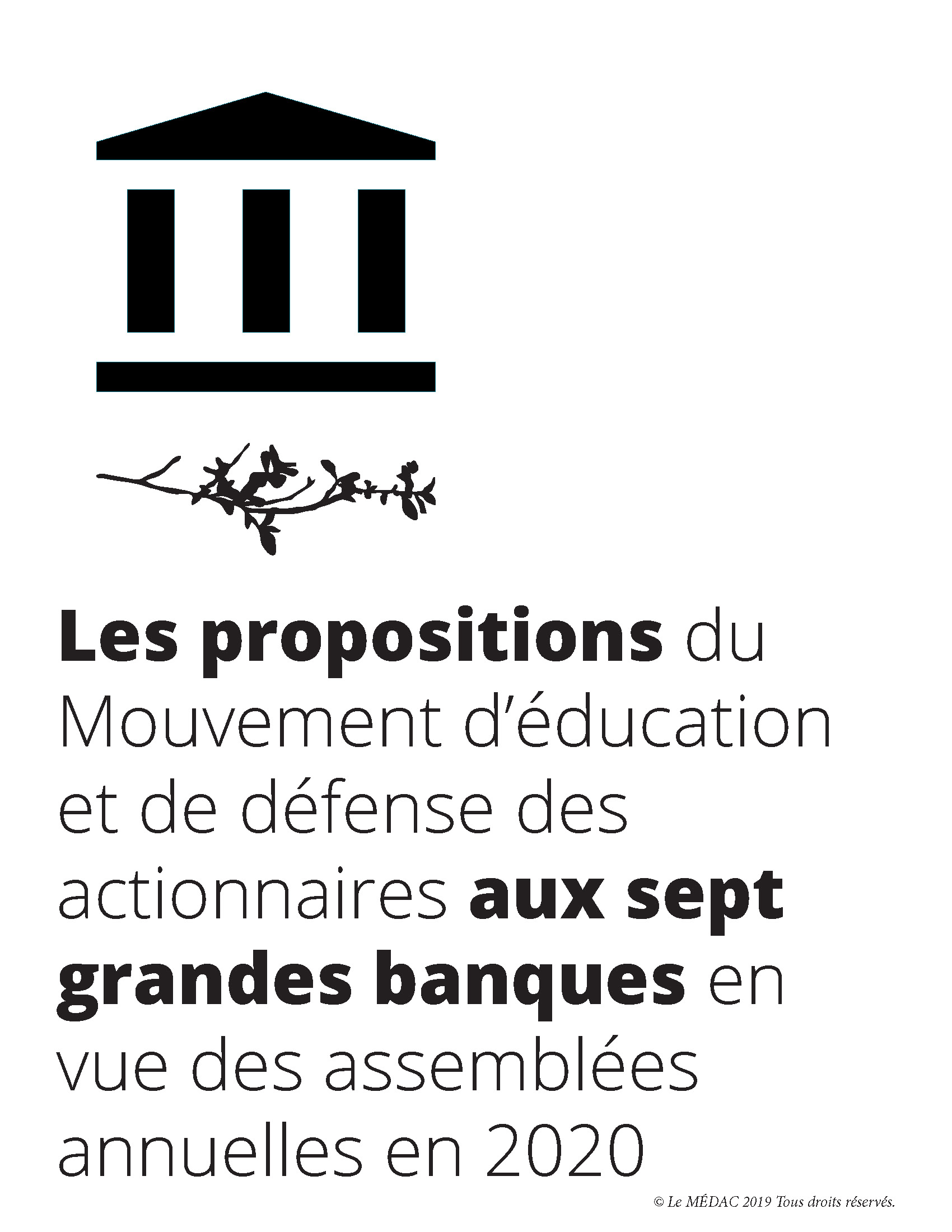 propositions 2020 banques